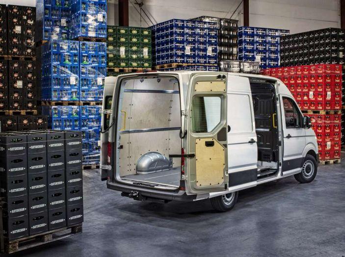 Volkswagen Crafter prova su strada del veicolo commerciale di nuova generazione - Foto 16 di 34
