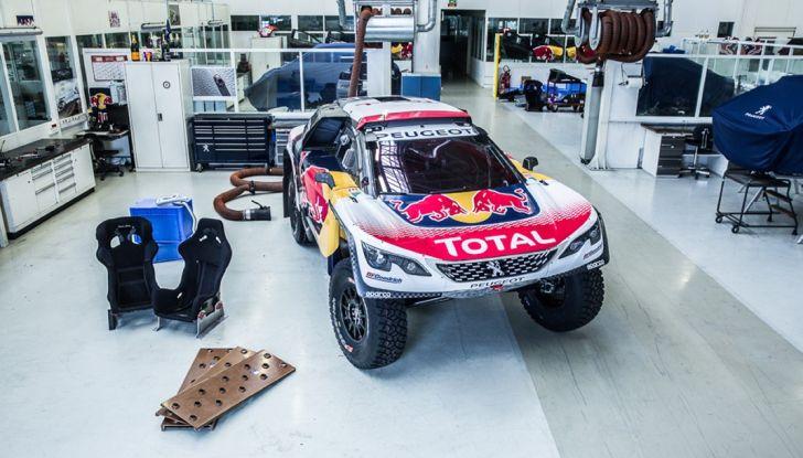 Peugeot 3008 DKR 2017: in cerca della doppietta alla Dakar 2017 - Foto 3 di 4