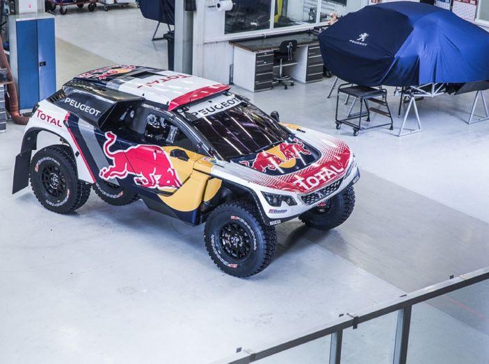 Peugeot 3008 DKR 2017: in cerca della doppietta alla Dakar 2017 - Foto 2 di 4