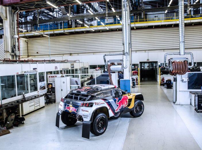 Peugeot 3008 DKR 2017: in cerca della doppietta alla Dakar 2017 - Foto 4 di 4