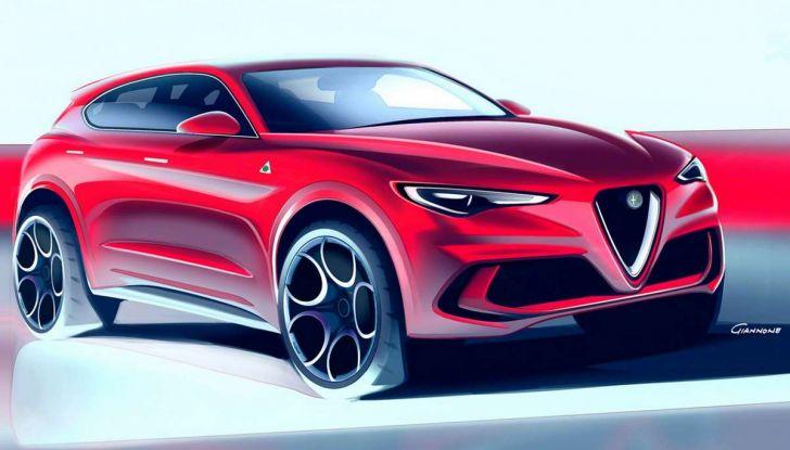 Alfa Romeo Stelvio pick-up, il rendering - Foto 17 di 25