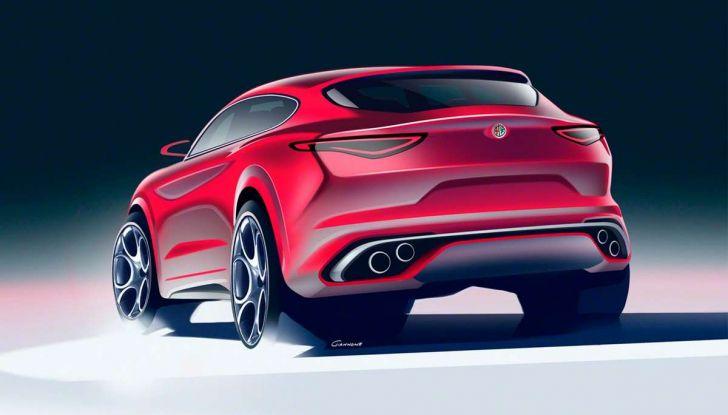 Alfa Romeo Stelvio pick-up, il rendering - Foto 19 di 25