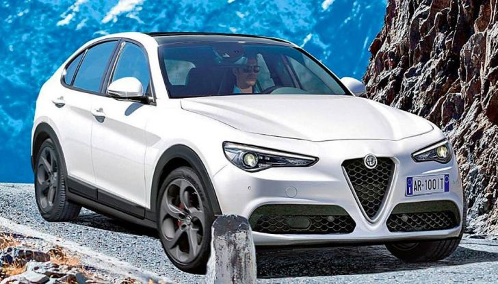Alfa Romeo Stelvio pick-up, il rendering - Foto 21 di 25
