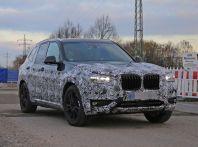 Nuova BMW X3 2017: le prime foto spia in Germania