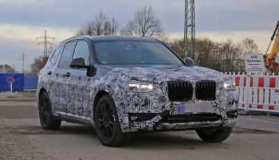 Nuova BMW X3 2017: le prime foto spia in Germania