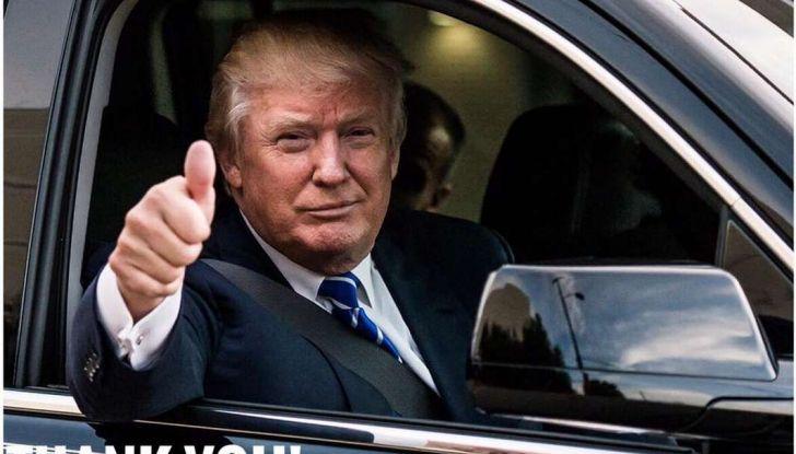 Donald Trump, nuovo Presidente Stati Uniti d'America: cambia tutto, anche l'automobile - Foto 3 di 10