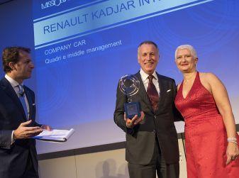 Renault Kadjar e Renault Espace vincitori del premio MissionFleetAwards