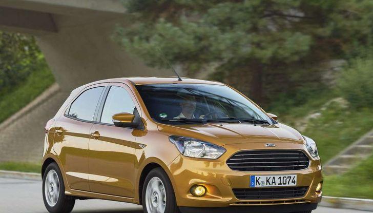 Ford KA+ la nuova compatta.