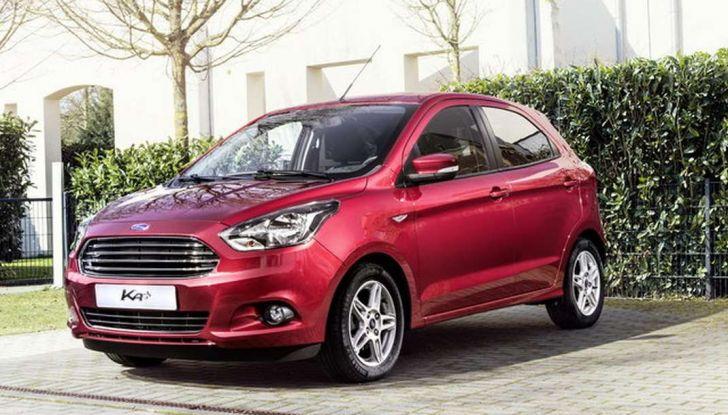 Ford KA+ la nuova compatta dell'ovale blu e approvata dagli amici a 4 zampe.