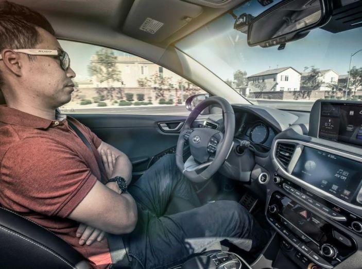 Ioniq Hyundai, self driving car.