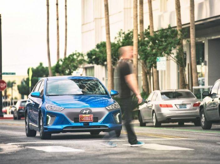 Hyundai Ioniq, auto a guida autonoma, al via i primi test in Europa.