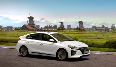 Hyundai IONIQ: la prima vettura disponibile nelle tre versioni elettrica, ibrida e Plug-In