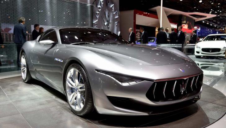 Maserati, nei piani la Alfieri elettrica in versione coupè e cabrio - Foto 5 di 7