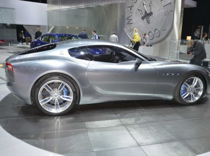 Maserati, nei piani la Alfieri elettrica in versione coupè e cabrio - Foto 6 di 7