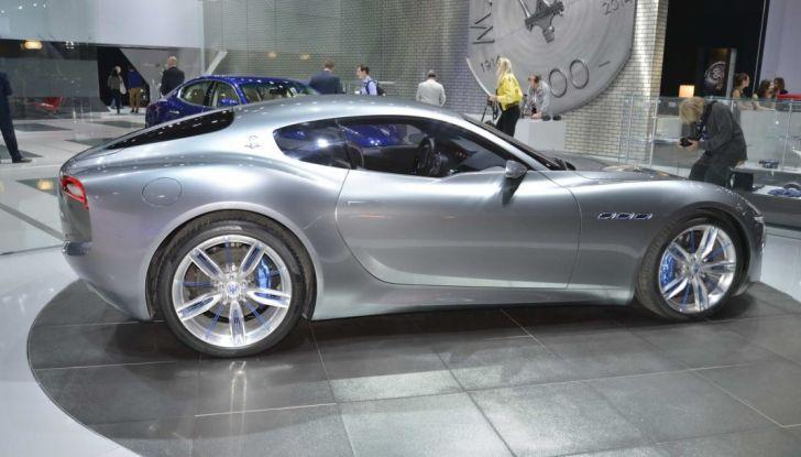 La Maserati Alfieri arriverà nel 2020: posticipato l'arrivo dell'elettrico - Foto 6 di 7