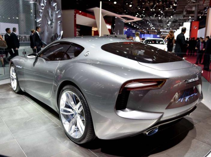 Maserati, nei piani la Alfieri elettrica in versione coupè e cabrio - Foto 7 di 7