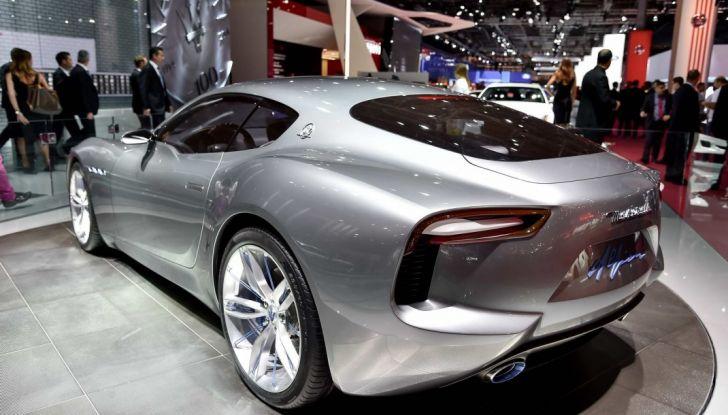 La Maserati Alfieri arriverà nel 2020: posticipato l'arrivo dell'elettrico - Foto 7 di 7