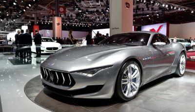 La Maserati Alfieri arriverà nel 2020: posticipato l'arrivo dell'elettrico