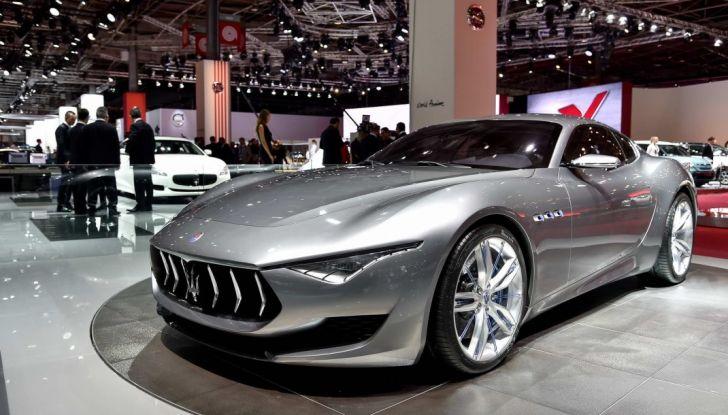 Maserati, nei piani la Alfieri elettrica in versione coupè e cabrio - Foto 1 di 7