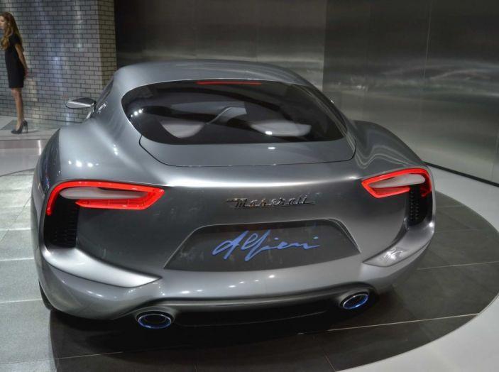 Maserati, nei piani la Alfieri elettrica in versione coupè e cabrio - Foto 2 di 7