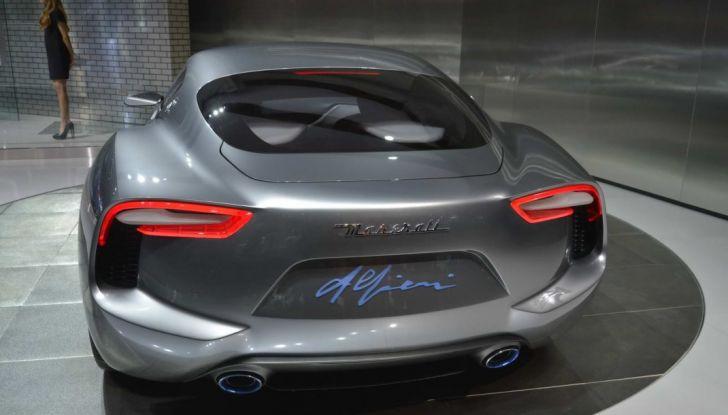 La Maserati Alfieri arriverà nel 2020: posticipato l'arrivo dell'elettrico - Foto 2 di 7