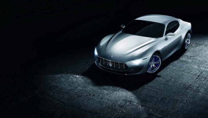 Maserati, nei piani la Alfieri elettrica in versione coupè e cabrio - Foto 3 di 7