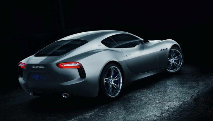 Maserati, nei piani la Alfieri elettrica in versione coupè e cabrio - Foto 4 di 7
