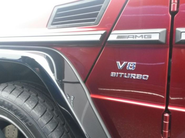 Mercedes Classe G: Prova su strada e in fuoristrada - Foto 20 di 33