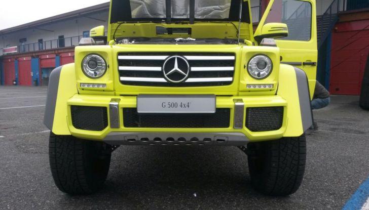 Mercedes Classe G: Prova su strada e in fuoristrada - Foto 7 di 33