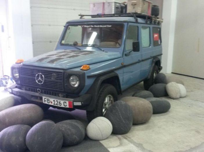 Mercedes Classe G: Prova su strada e in fuoristrada - Foto 4 di 33