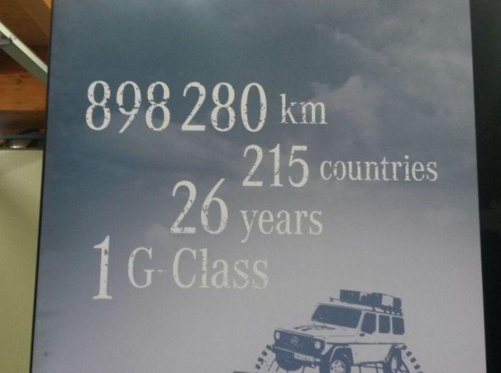 Mercedes Classe G: Prova su strada e in fuoristrada - Foto 21 di 33