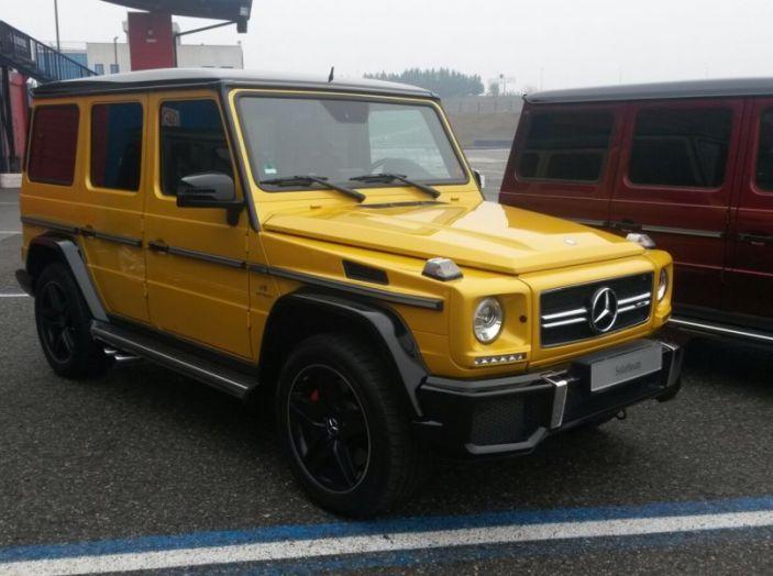 Mercedes Classe G: Prova su strada e in fuoristrada - Foto 2 di 33