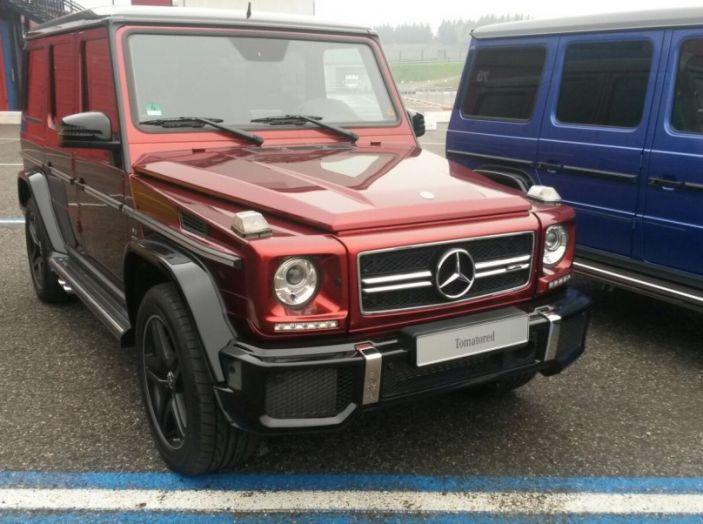 Mercedes Classe G: Prova su strada e in fuoristrada - Foto 9 di 33
