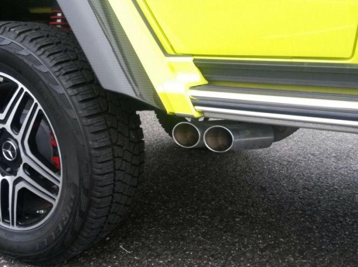 Mercedes Classe G: Prova su strada e in fuoristrada - Foto 27 di 33