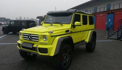 Mercedes Classe G: Prova su strada e in fuoristrada
