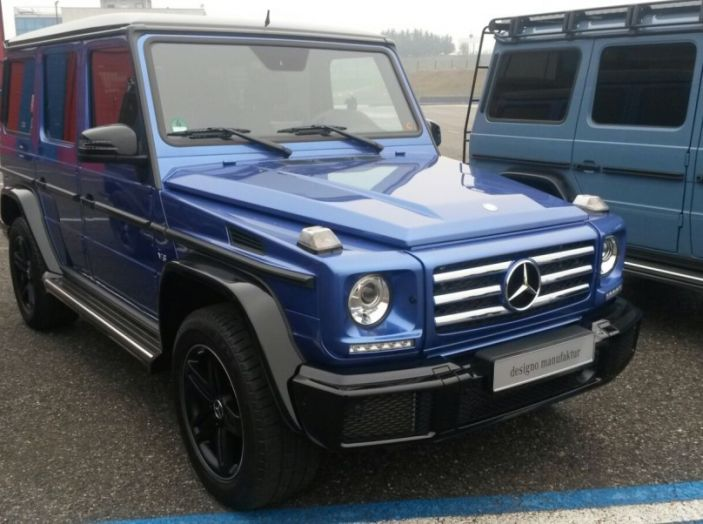 Mercedes Classe G: Prova su strada e in fuoristrada - Foto 8 di 33