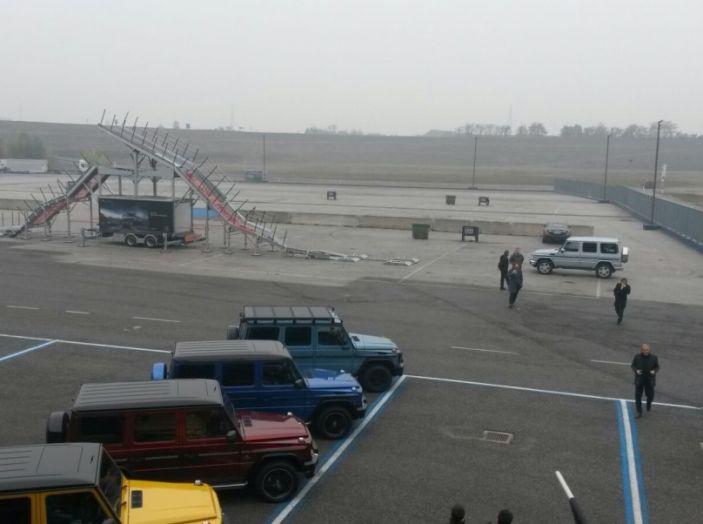 Mercedes Classe G: Prova su strada e in fuoristrada - Foto 29 di 33