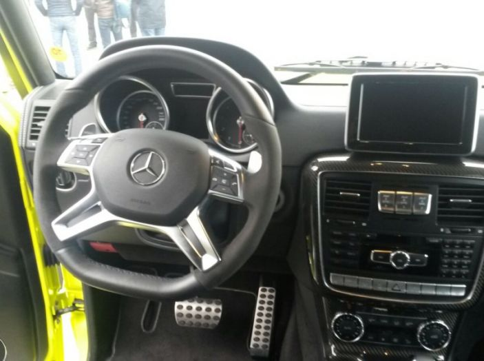 Mercedes Classe G: Prova su strada e in fuoristrada - Foto 14 di 33