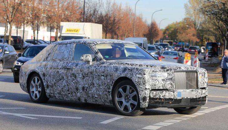Nuova Rolls Royce Phantom spiata con nuovi dettagli e particolari - Foto 5 di 10