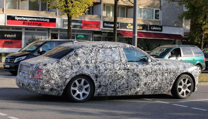 Nuova Rolls Royce Phantom spiata con nuovi dettagli e particolari - Foto 8 di 10
