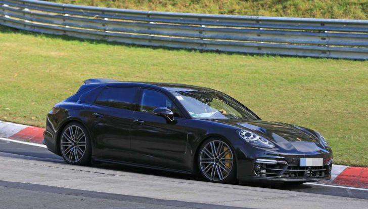 Porsche Panamera Shooting Brake, le foto spia della versione quasi definitiva - Foto 13 di 13