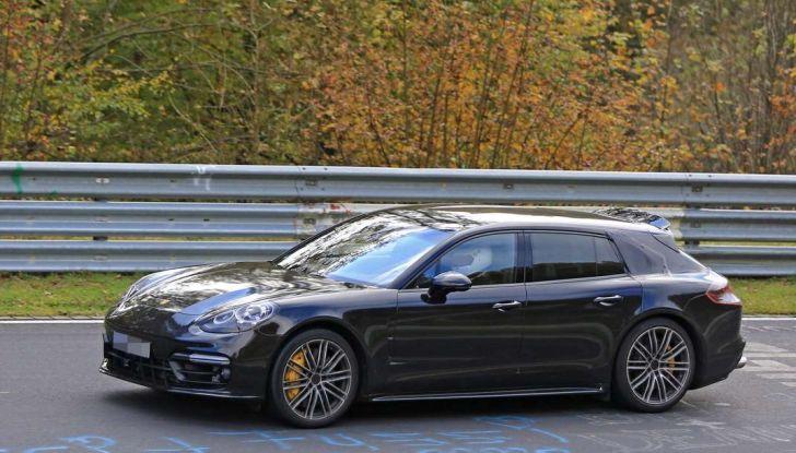 Porsche Panamera Shooting Brake, le foto spia della versione quasi definitiva - Foto 7 di 13