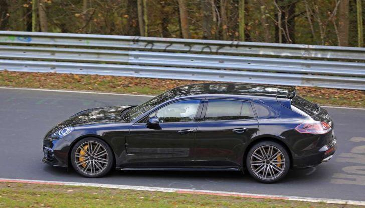 Porsche Panamera Shooting Brake, le foto spia della versione quasi definitiva - Foto 8 di 13