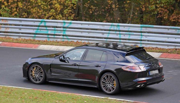 Porsche Panamera Shooting Brake, le foto spia della versione quasi definitiva - Foto 9 di 13