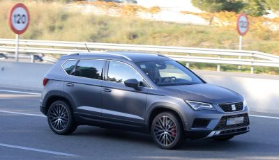 Seat Ateca Cupra, foto spia del SUV sportivo da 290 cavalli