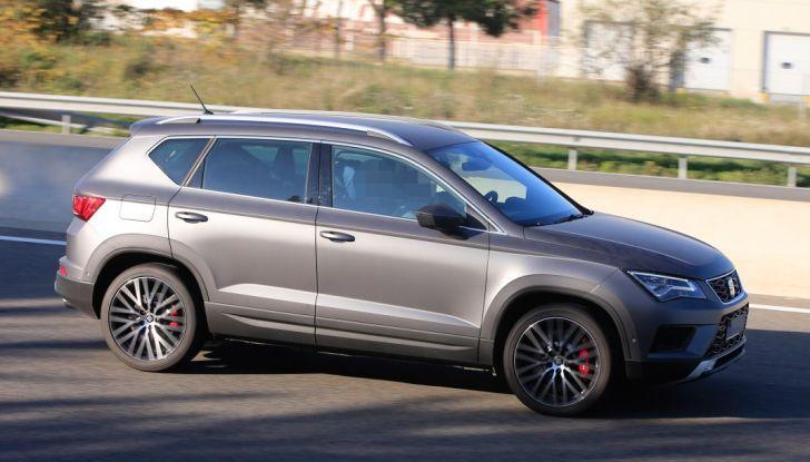 Seat Ateca Cupra, foto spia del SUV sportivo da 290 cavalli - Foto 5 di 10