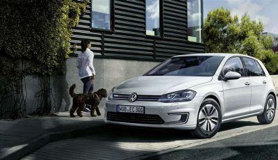 Volkswagen e-Golf 2017, l'elettrica debutta con un'autonomia di 300 km