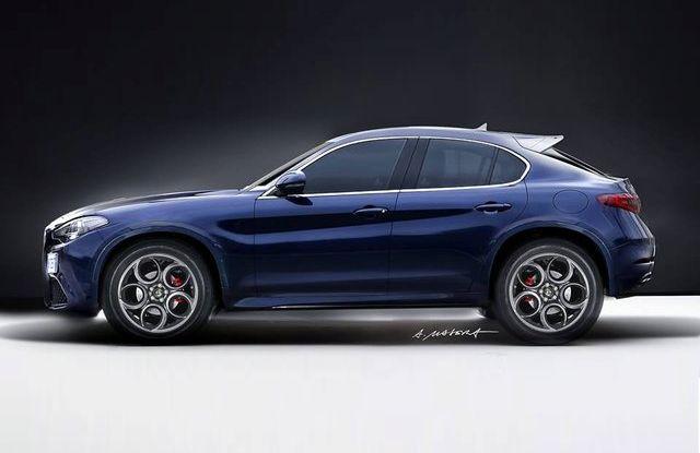 Alfa Romeo Stelvio pick-up, il rendering - Foto 22 di 25