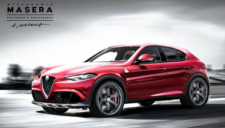 Alfa Romeo Stelvio pick-up, il rendering - Foto 23 di 25