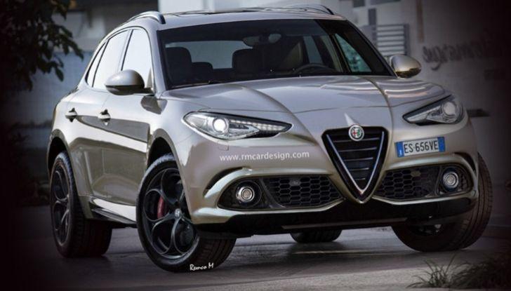 Alfa Romeo Stelvio pick-up, il rendering - Foto 20 di 25